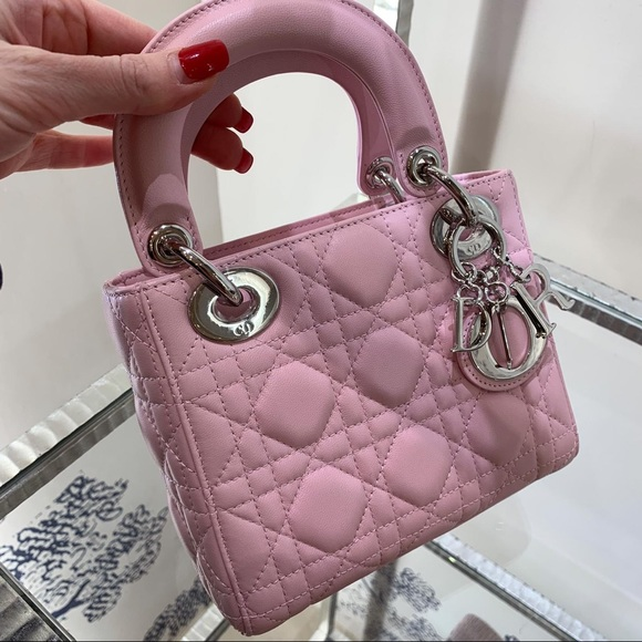 a2df63823c Dior Bags | New Lady Mini Baby Pink Purse | Poshmark